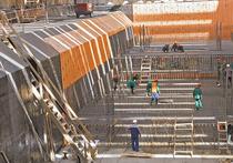 Новая станция «Шелепиха» строится в непосредственной близости от жилья