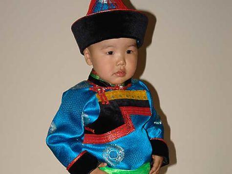 Детские платья бурятские