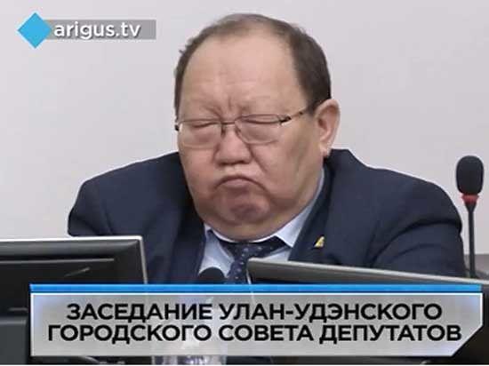 Первый заммэра Улан-Удэ уснул во время доклада главного городского полицейского о состоянии преступности