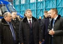 Алексей Цыденов об Улан-Удэнском авиазавод: «Завод великолепный!»