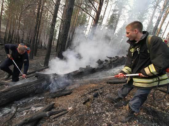 В Бурятии лесные пожары предложено тушить подземными водами