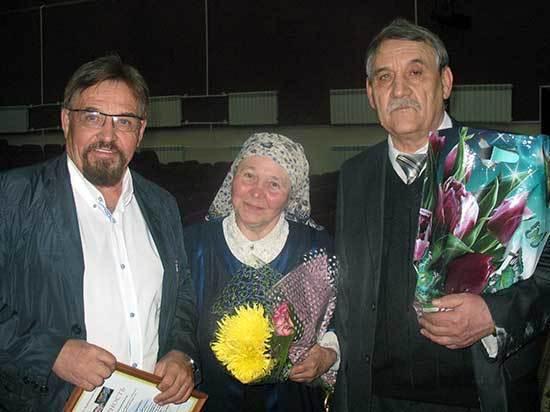 Впервые за 30 лет проживания в Кабанском районе Степан Лобозеров  провел творческий вечер для земляков