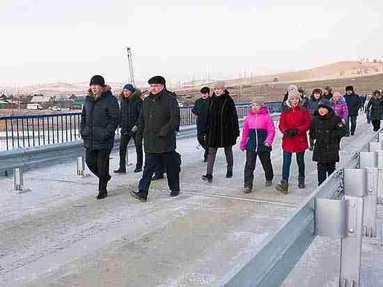 148-метровый мост и еще 5 километров безопасных дорог появились в Бурятии